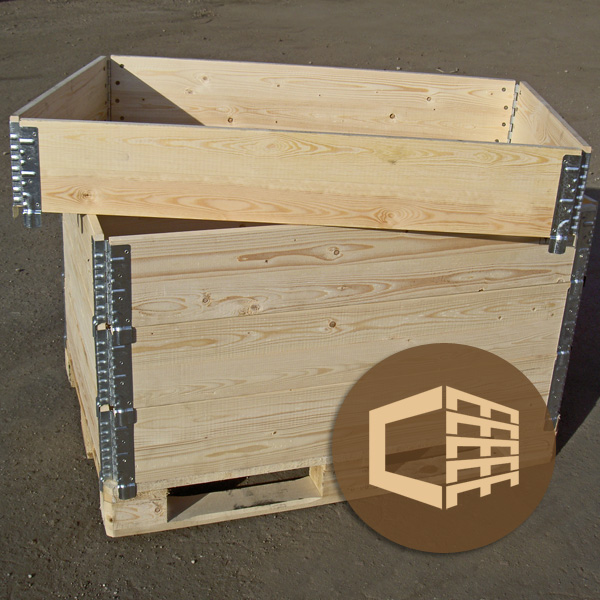 New and Used Pallet Collars