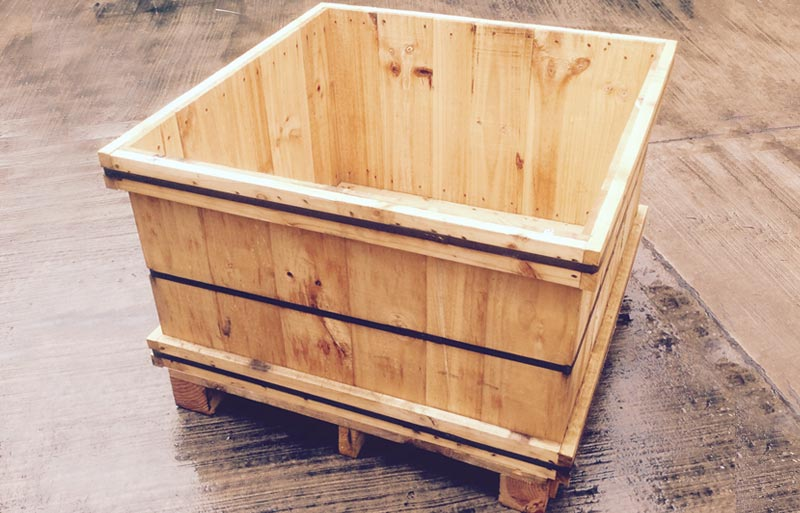 Timber Box Crates